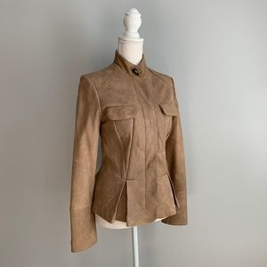 Incredibly SOFT Arden B Tan Genuine Leather Jacket